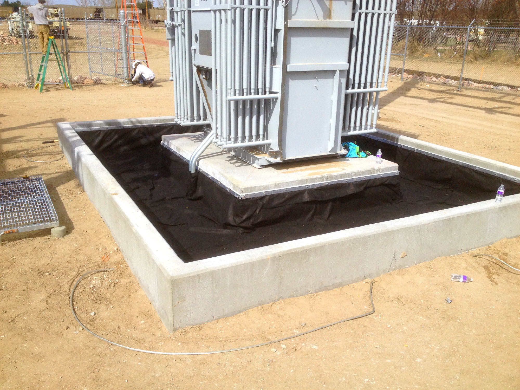 Transformer Pads And Substations Lange Containment