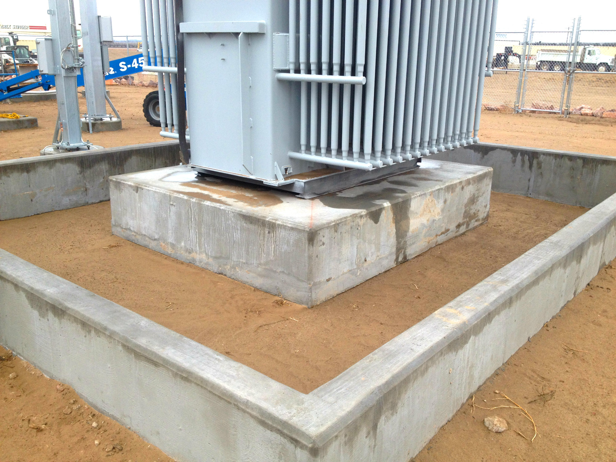 Transformer Pads and Substations | Lange Containment