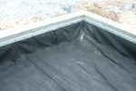 fabricated liner with batten bar
