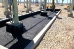 transformer pad liner, substation liner, fabricated liner, Colorado, oil liner