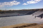 membrane installation, reservoir liner, Colorado,