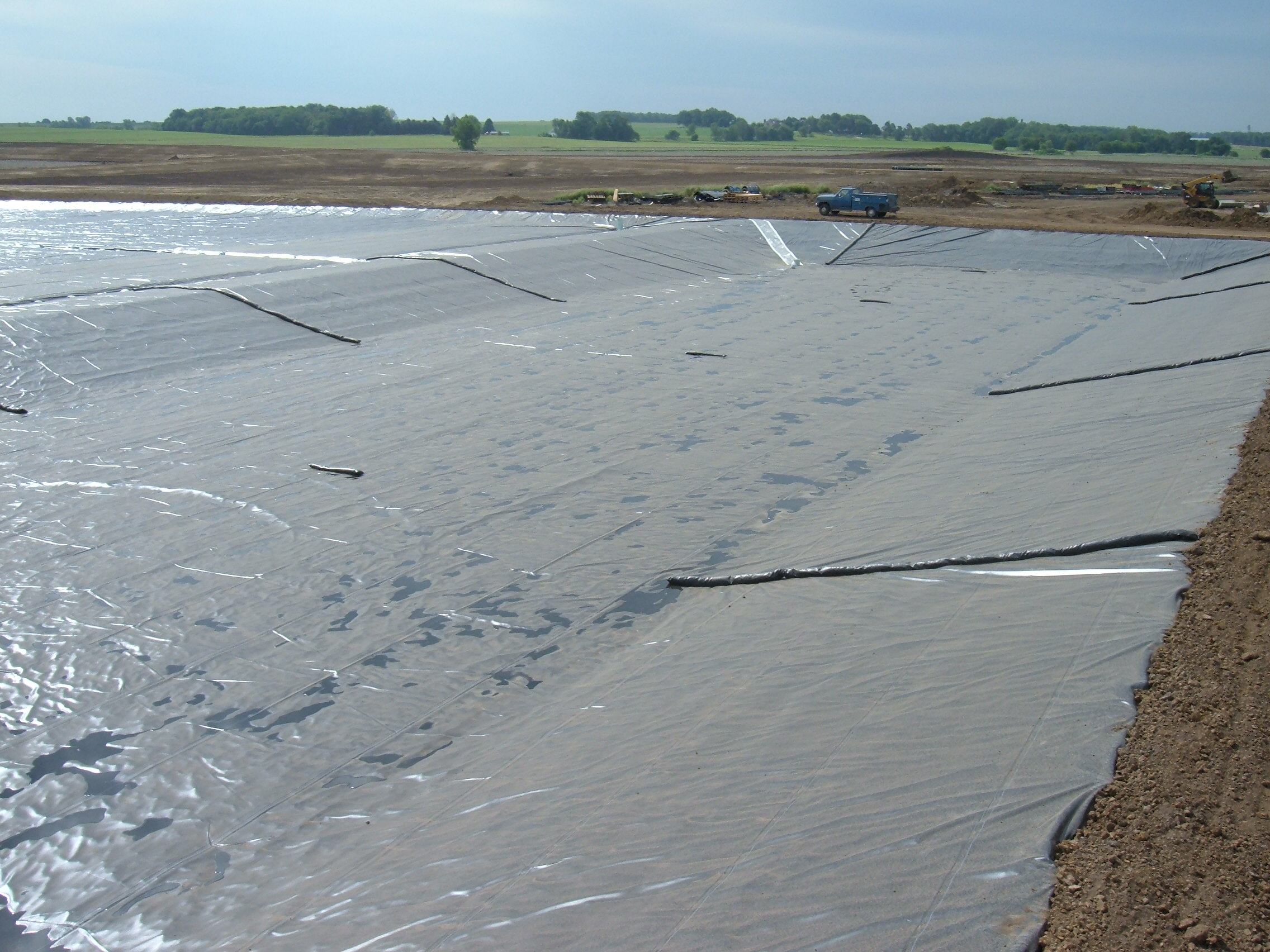 Agriculture aquaculture lange containment for Ornamental pond liners