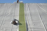liner installation, Lange Containment, Colorado